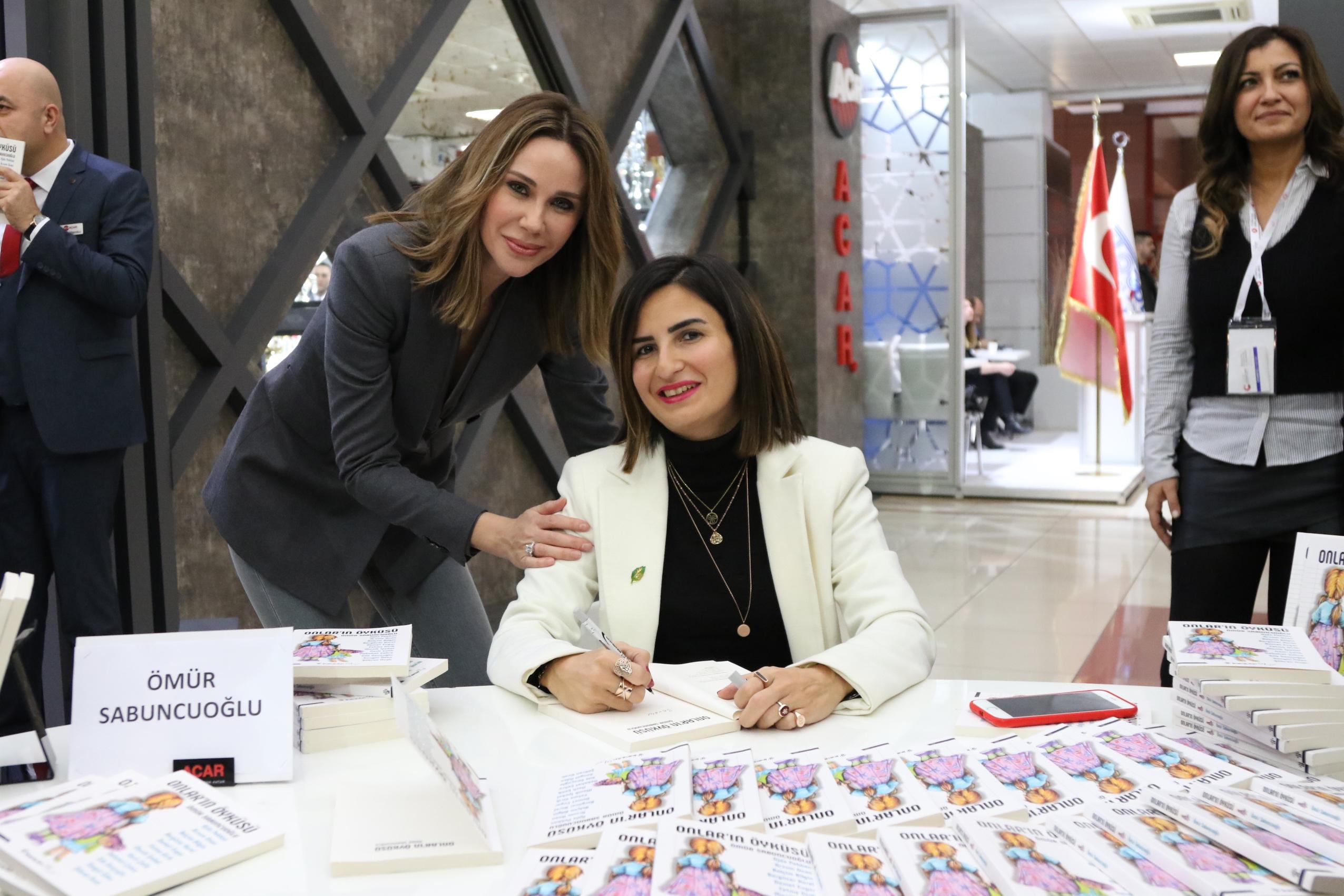 Ömür Sabuncuoğlu-demet şener sosyal sorumluluk projesi